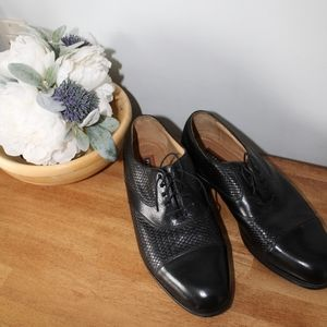 Florsheim Men's Black Oxford Shoes Size 9.5